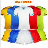 2014 World cup duffle custom mesh paintless uniforms personality badge blank training suit male football jersey short-sleeve jersey