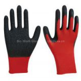 13 gauge latex coated glove