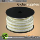 100% Virgin Teflon Packing Braided Packing PTFE with Kevlar Corner Braided Gland Packing