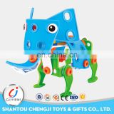 Best selling products animal shape diy assembly funny blocks play set