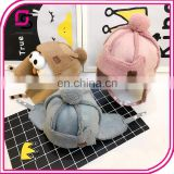 Soft cute baby hats with good quality fashion creative baby caps