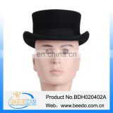 2015 new products wool felt carnival party top hat with ribbon