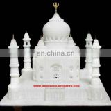 Handmade Taj Mahal Replica India Stone Art Gift Home Decor