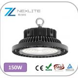 150w LED UFO high bay 150lm/w with Phillips chip and Meanwell driver 5 years warranty led warehouse lighting