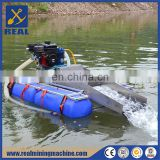 China Machine Manufactory Automic Small Gold Mining Dredger for gold suction and sand pumping