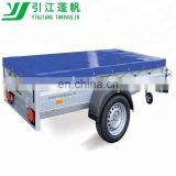 Caged Blue 450g/m2 PVC trailer cover