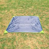 Ground Sheet 2 x 2 m, Beach Sand Free Portable Picnic Blanket