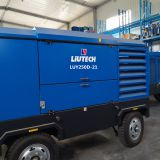 LUY250D-21of LIUTHCH brand Electric power  screw  portable air compressor of  used for Mineral mining,blasting hole drilling
