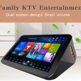 China Karaokee Mini Home Ktv Song Karaoke System Professional 15.6 Inch Portable Hard Disk Karaoke On Demand Player