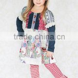 Bulk wholesale children's clothing girls boutique outfits fall children clothing