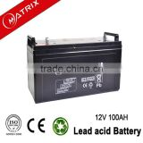 High class 12v 100ah batteyr pv module battery for solar system