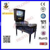 New standing 3 screen virtual Chinese Pinball Machine for Sale with 500+games, Pinball arcade machine can be standing