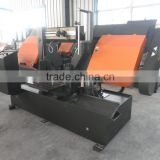 Electric Engine Horizontal Bandsaw Sawmill Metal Cutting Saw Machine