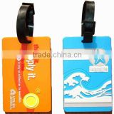 High quality clear plastic luggage tags/soft pvc luggage/luggage key tag