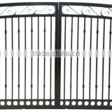 American hot sale Powder Coated Black Aluminum Fence Gate, Railing