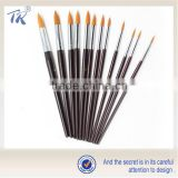 cleaning brush Promotional Wooden Nylon Painting cleaning brush                                                                         Quality Choice