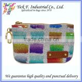 Colorful Blink Blink Shiny Glitter PVC Small Coin Purse