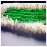 Microfiber Home&Hotel&Hospital Use Tassels Decorated Wet/Dry Mop Pads Replacement