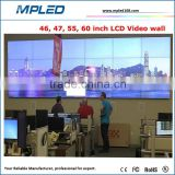 High quality cheap price LCD video wall lcd screen solution for indoor advertising and TV Broadcast Center
