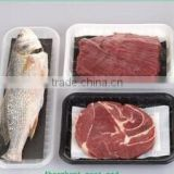 Professional Customization Supermarket Display With Absorbent Pad Plastic PP Meat Container