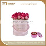 China Supplier cylindrical flower tube box
