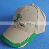 wholesale customer 100% cotton baseball cap embroidery