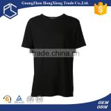 New design 100% cotton short sleeve summer men pre washed blank t-shirts