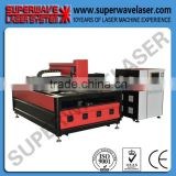 carbon steel cnc laser cutting machinery co2 laser engraving cutting machine engraver 40w