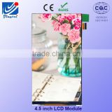 INquiry about Supply different kind of portrait 4.5 inch tft oem touch screen lcd display