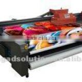Flora UV hybrid flatbed and roll to roll printer PP2516UV Turbo with new Konica 1024 print heads