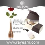 Reyon Aluminum Wireless Bluetooth 4.0 Stereo Speaker with microphone, Built-in 1500mAh rechargeable Lithium Ion battery
