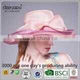 Lady Wide Brim Philippines Sinamay Hat Wholesale Women Church Hat