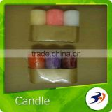 Candle White Scented Smokeless Pillar Candle
