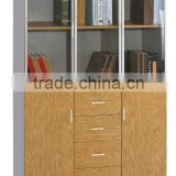 high quality modern office filing cabinet document storage cabinet credenza double glass door bedroom bookcase bookself cabinet