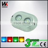 IP68 120w RGB Led Underwater Lighting 12v for Yacht Pool Boat accessories underwater LED Light