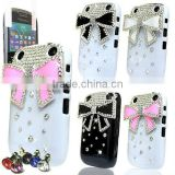 FOR BLACKBERRY 9320 CURVE LUXURY 3D CRYSTAL DIAMOND BLING MOBILE PHONE CASE DIAMANTE COVER