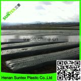 black weed control ldpe agriculture mulching weed film/silver black mulch film 100 microns