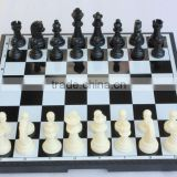 untique log wood chess game manufacturers family Children P1202