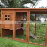 Wooden Chicken Coop with nest house