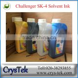 Challenger sk4 solvent ink 1L or 5L packing for spt head machine