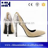 China Wholesale Sexy Women Stiletto Pointed Toe High Heels Ladies Pump Shoes
