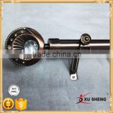 AH 541 New design 28mm curtains poles Zinc Alloy curtain rod finials                                                                                                         Supplier's Choice
