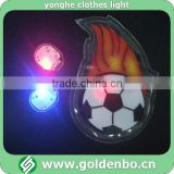 2014 Brazil World Football Cup PVC light for clothing