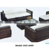 Import Furniture From China UGO Garden Furniture Wicker Sofa High Quality