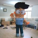 Cool Good Quality Inflatable Advertising Moving Cartoon Walking Mascot