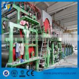 henan kraft paper / fluting paper / corrugated paper making machine, machine to make recycled paper