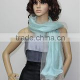 fashion double layer silk scarf