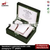 New Luxury Wooden Jewellery Watch Window Display Gift Box Piano Finish 824 -2.5k