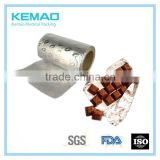 lacquer aluminum foil wrapper for chocolate bar