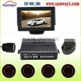 12V rear view camera with parking assist device